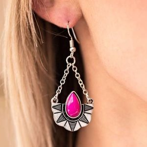 Jewelry - 💕 Savanna Cruise Pink Earrings